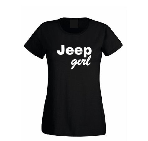 Jeep Girl T shirt-men woman T shirts-DiamondsKT