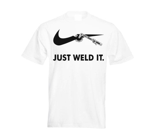 Just weld it T shirt-men woman T shirts-DiamondsKT