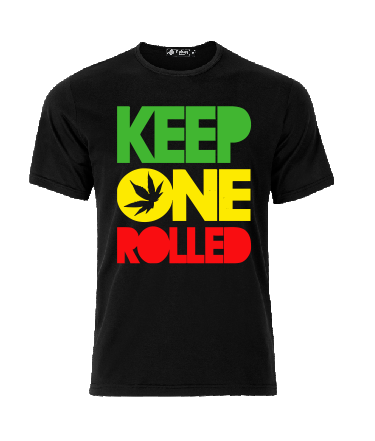 Keep One Rolled T shirt-men woman T shirts-DiamondsKT