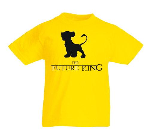The Future King - The King matching Daddy and me family T shirt-Kids T shirts-DiamondsKT