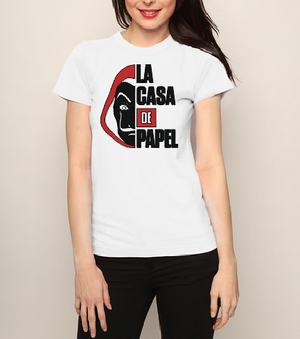 La Casa de Papel Money Heist T shirt-men woman T shirts-DiamondsKT