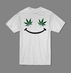 Marijuana smile T shirt-men woman T shirts-DiamondsKT