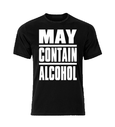 May contain Alcohol T shirt-men woman T shirts-DiamondsKT