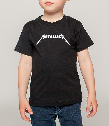Metallica Kids Boy Girl Baby cotton t shirt-Kids T shirts-DiamondsKT