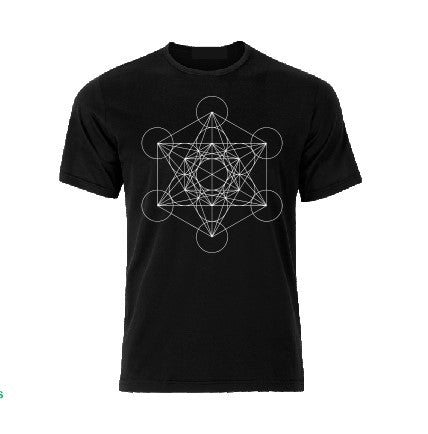 Metatron's cube T shirt-men woman T shirts-DiamondsKT