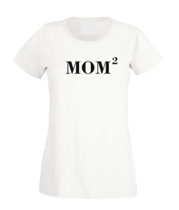 Mom of 2 or 3 childrens girls boys woman T shirt-woman t shirts-DiamondsKT
