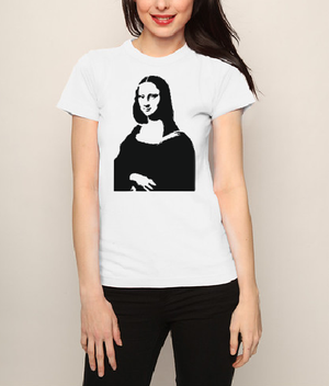Mona Lisa T shirt-men woman T shirts-DiamondsKT