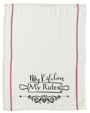 My Kitchen my Rules kitchen tea towel-kitchen towels-DiamondsKT