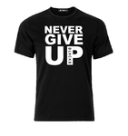Never give UP Mohamed Salah T shirt-men woman T shirts-DiamondsKT