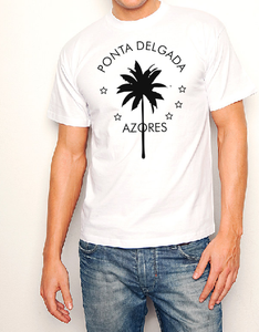 Ponta Delgada Azores T shirt-men woman T shirts-DiamondsKT