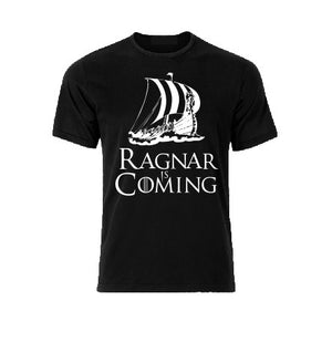 Ragnar is coming Drakara T shirt-men woman T shirts-DiamondsKT