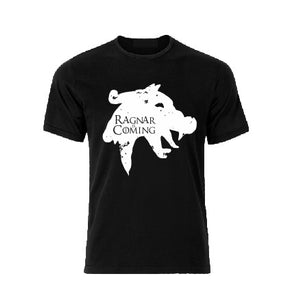 Ragnar is coming Vikings / The Game of Thrones inpired T shirt-men woman T shirts-DiamondsKT