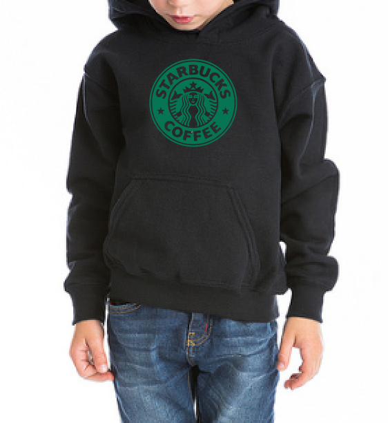 Starbucks Coffee Kids / Boy / Girl / Baby cotton t shirt-DiamondsKT