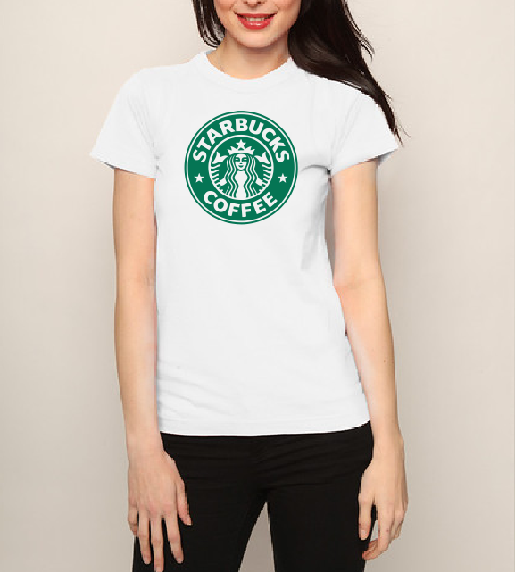 Starbucks cofee T shirt-men woman T shirts-DiamondsKT