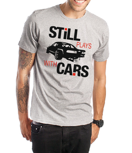 Still plays with Cars T shirt-men T shirts-DiamondsKT