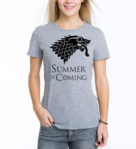 Funny Summer is coming T shirt-men woman T shirts-DiamondsKT