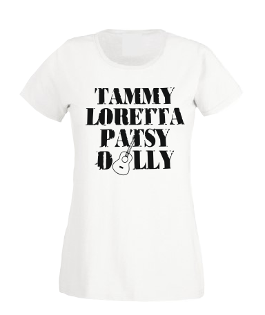 Tammy Loretta Patsy Dilly T shirt-men woman T shirts-DiamondsKT