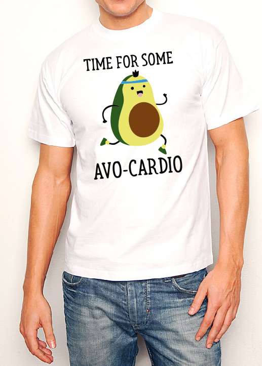 Time for some AVO cardio T shirt-men woman T shirts-DiamondsKT