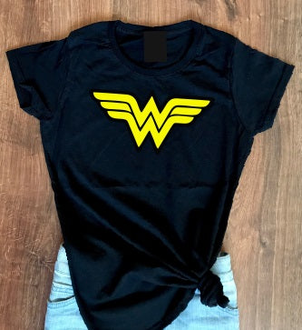 Wonder Woman Girl Kids Baby cotton t shirt-Kids T shirts-DiamondsKT