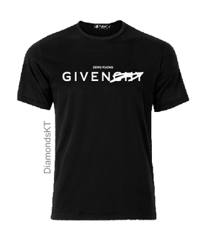 Zero Fucks Given T shirt-men woman T shirts-DiamondsKT