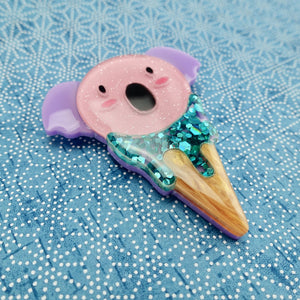 Kody the Koala Icecream Brooch - Limited - edenki