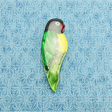Load image into Gallery viewer, Louie the Lovebird Brooch