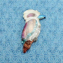 "Load image into Gallery viewer, Kevin ""Kev"" the Kookaburra Brooch"