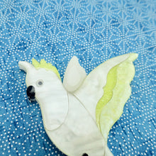 Load image into Gallery viewer, Charlie the Cockatoo Brooch