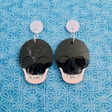 Load image into Gallery viewer, Stella Skull Earrings