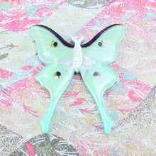 Load image into Gallery viewer, Luna Moth Brooch