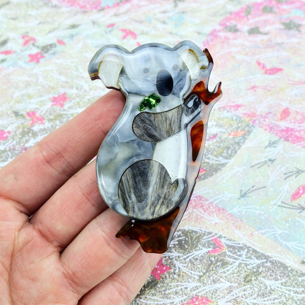 Koora the Koala Brooch - edenki