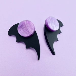 Bat Wing Ear Jacket - Matt Black