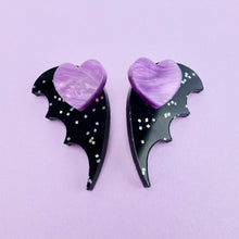 Load image into Gallery viewer, Bat Wing Ear Jacket - Galaxy Black