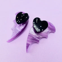 Load image into Gallery viewer, Bat Wing Ear Jacket - Pearl Lavender - edenki