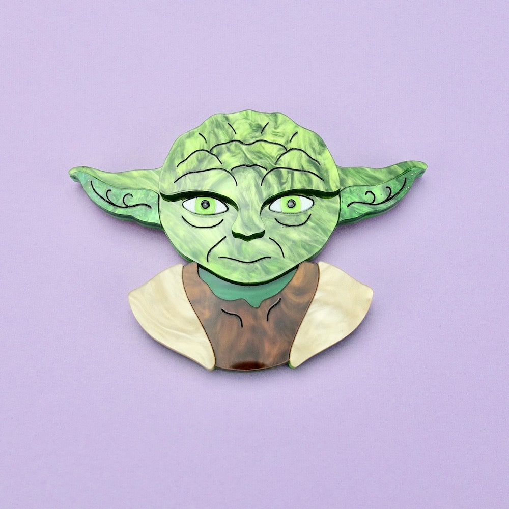 Star Wars - Yoda Brooch - edenki