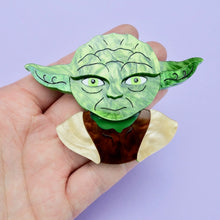 Load image into Gallery viewer, Star Wars - Yoda Brooch