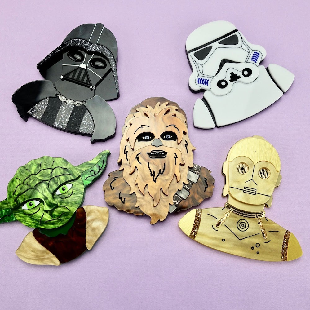 Star Wars - Brooch Set