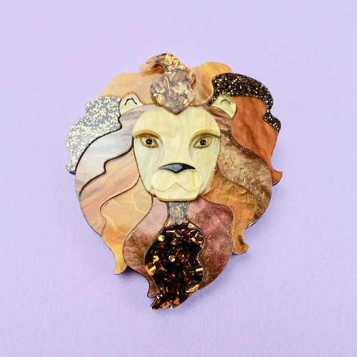 Lyle the Lion Brooch