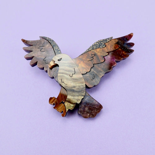 Edrea the Eagle Brooch - edenki