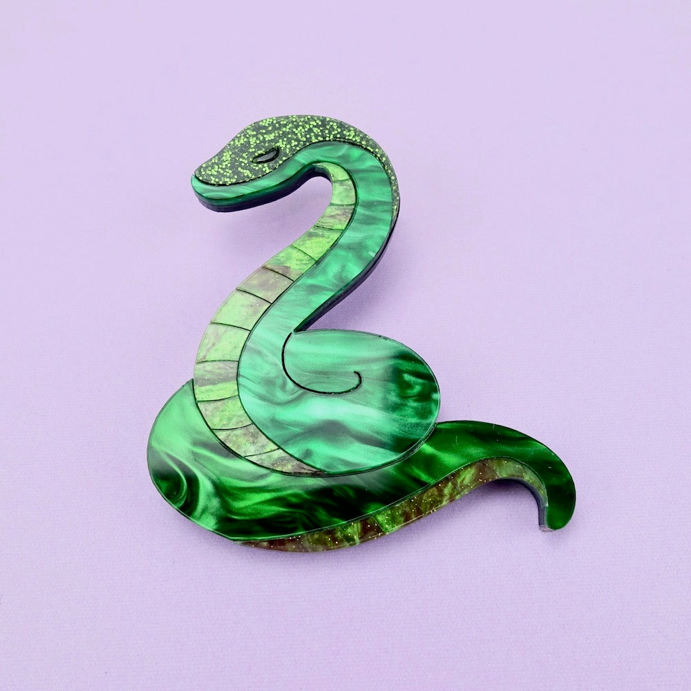 Siddel the Snake Brooch - edenki