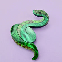 Load image into Gallery viewer, Siddel the Snake Brooch - edenki