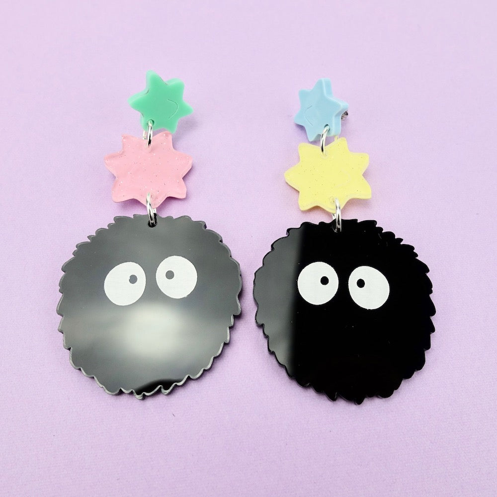 Soot Sprite Earrings - edenki