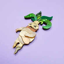 Load image into Gallery viewer, Meb the Mandrake Brooch - edenki
