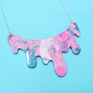 Drip Necklace in Nebula - edenki