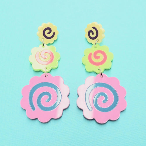 Hyper Narutomaki Earrings - edenki