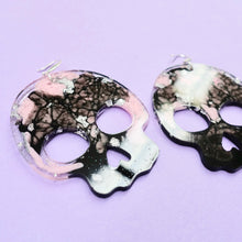 Load image into Gallery viewer, Statement Skull Earrings in Figment - edenki