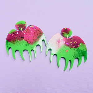 Botanica - Venus Flytrap Earrings - edenki