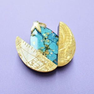 Triwizard Golden Egg Brooch - edenki