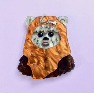 Star Wars - Ewok Brooch - edenki