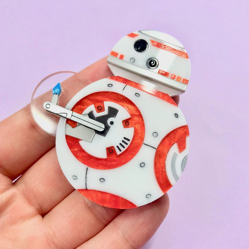 Star Wars - BB-8 Brooch - edenki